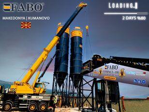 новый бетонный завод Fabo MIX COMPACT-110 CONCRETE PLANT   CONVEYOR TYPE